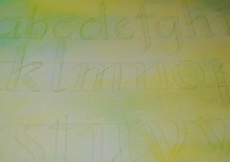 canvas callig